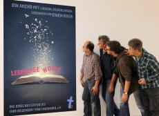 Theomobil Lebendige Worte Plakatblick